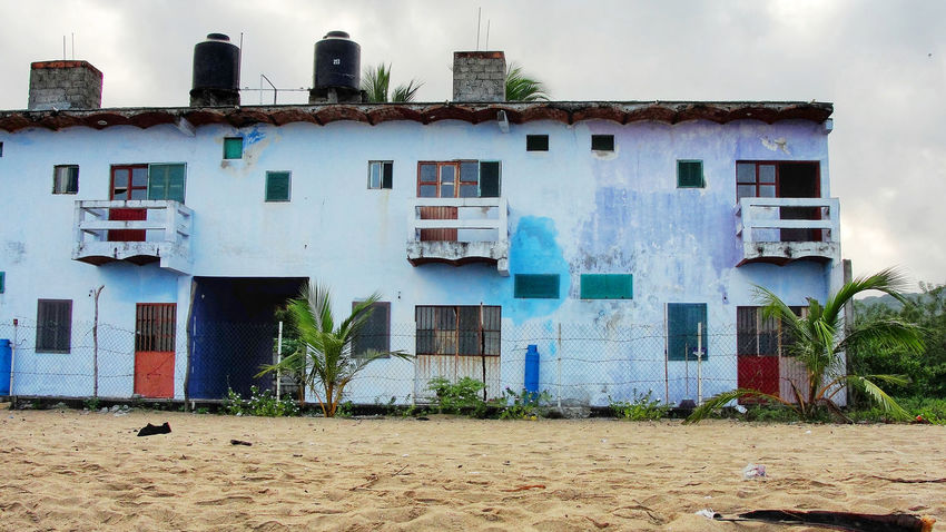 Cemetery Mexico Abandoned Architecture Beach Building Building Exterior Built Structure Cloud - Sky Day Jungle Land Nature No People Old Puerto Vallarta Residential District Sky Tropical Climate