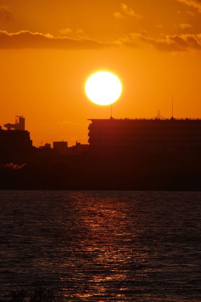 Sunset Sun 淀川