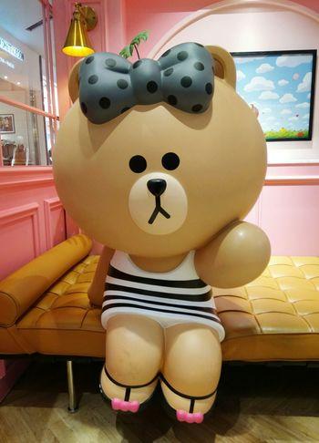 每一個都好可愛 8~ LINE Choco LineChoco Linefriends LineFriendsStore 熊大妹妹