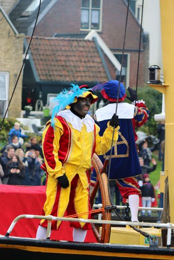 Intocht Sinterklaas in Dokkum Zwarte Piet Sinterklaas NoordFryslan Netherlands Dokkum Fryslan Friesland City Netherlands ❤ Intochtsinterklaas