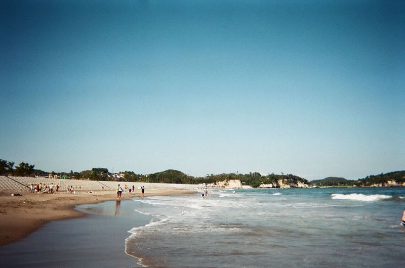 写ルンです Beach Sea Miyagi First Eyeem Photo Film