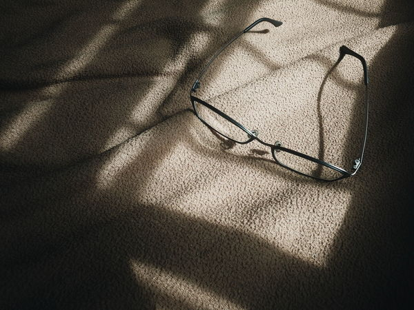 Shadow Sunlight Focus On Shadow High Angle View Indoors  Textured  Glasses Eye Glasses