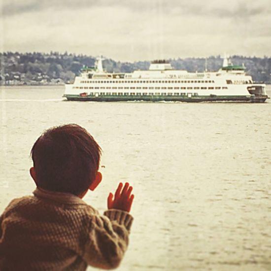 Bainbridge Island Ferry Little Boy Looking Out The Window  Boat Commuterline Iphoneonly Iphonephotography Igersoftheday Igerswashington Eye4photography  EyeEm Best Shots EyeEmBestPics Camerateur Puget Sound, Washington Pugetsound Puget Sound Northwest Nw