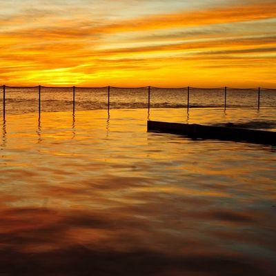 Sony Nex Nex5n Skopar 21mm sydney australia bronte brontebeach sunrise goldenhour landscape seascape