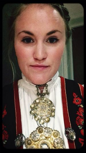 First Wedding Norwegian Girl Bunad Vest Telemark First Eyeem Photo