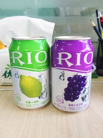 RIO喝起来和汽水没有区别呀