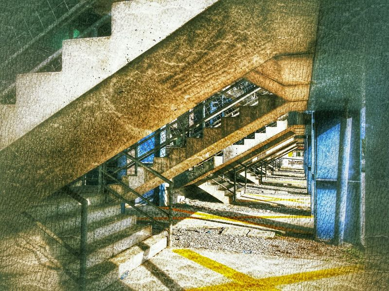 Pordenone, Italy Italy Pordenone Photography Art Fineart Urban Architecture Emergency Stairs Emotional Rescue Edit Or Leave It TheToneNation