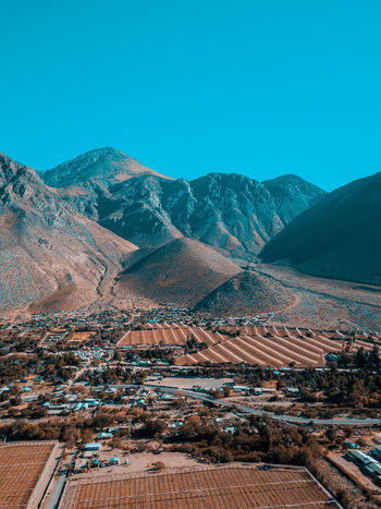 Elqui Valley Mountain Snow Winter Cold Temperature Sky Landscape Mountain Range Rocky Mountains Physical Geography Eroded Arid Landscape Rock Formation Mountain Peak Mountain Road Valley Geology Natural Landmark Canyon