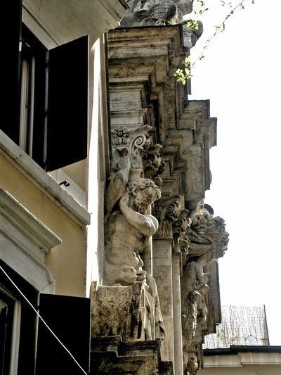Alla finestra! Sculpture Chiesa Sconsacrata Prospettive From My Point Of View Urban Architecture Abandoned Places Urbanphotography