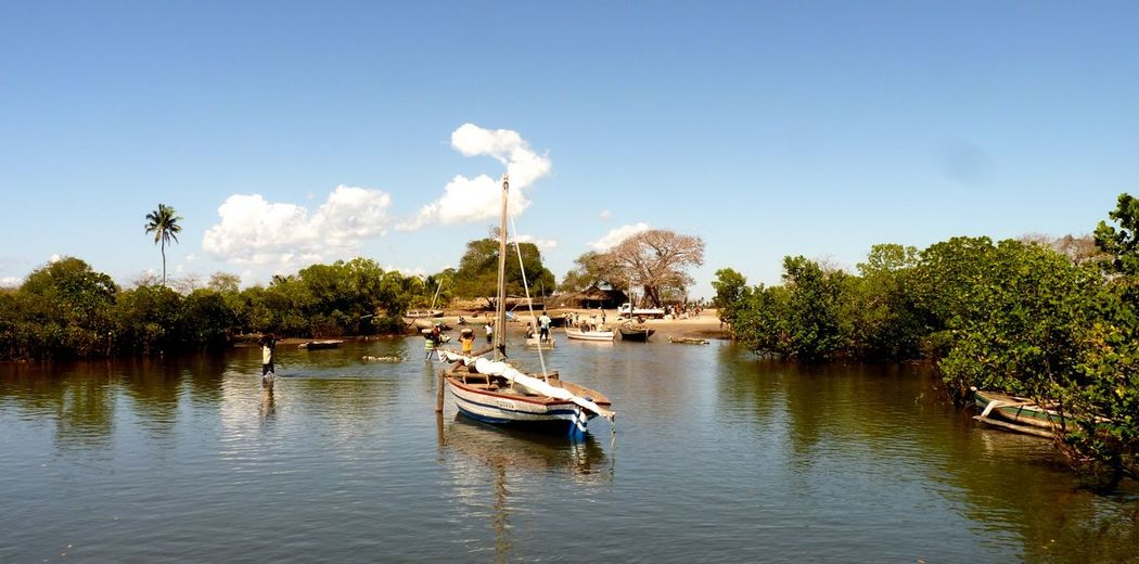 African Beauty African Landscape Boat Ride Ibo Island Mozambican Mozambique Sea Land Sky Sea Landscape_collection