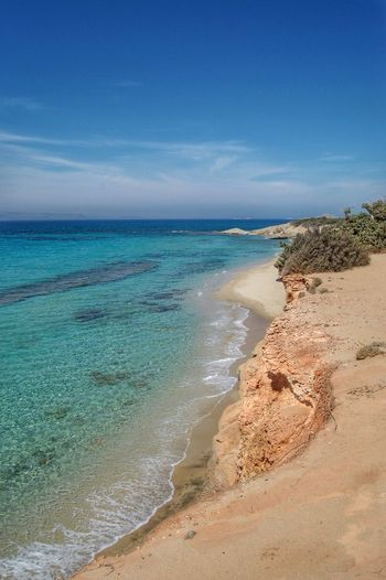 Greek Islands Beach Beauty In Nature Sea Horizon Over Water Naxos Naxos Greece Naxos_island Naxos Beach Greek Greece GREECE ♥♥ Sand No People Beach Life Mediterranean  Mediterranean Sea Beachphotography Beach Photography Alone Wild Escaping Nature Tranquility Relaxing Moments