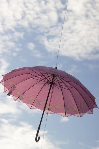 Umbrella Against Sky