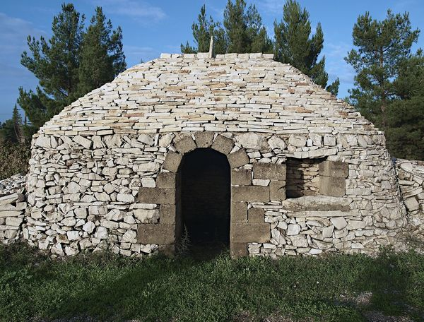 Architecture House And Trees No People Old House - Stone House Original House Outdoors Puglia South Italy Stone House Trullo White Stones
