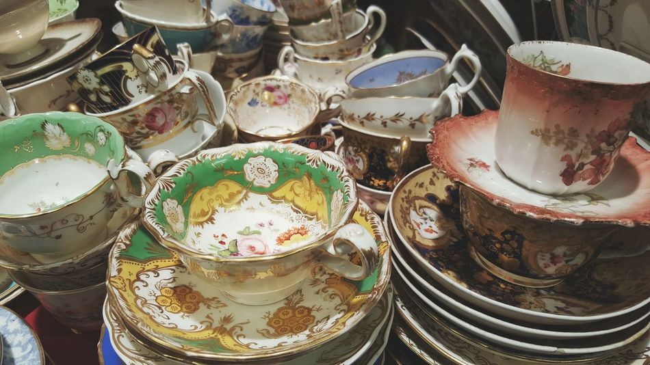 Vintage Shopping Tea Time Antique Portabellomarket Looking At Things London Beautiful LONDON❤ View Through My Lens Enjoying Life