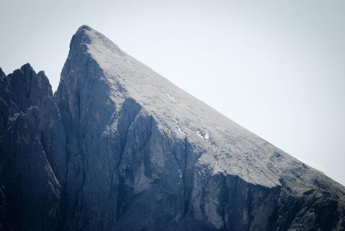 Sassopiatto, Dolomiti Alpi Alps F Gardena Hiking Italia Italy Italy❤️ Majestic Mountain Mountain Range Physical Geography Plattkofel Rocky Mountains Rough Sassolungo Trentino Alto Adige