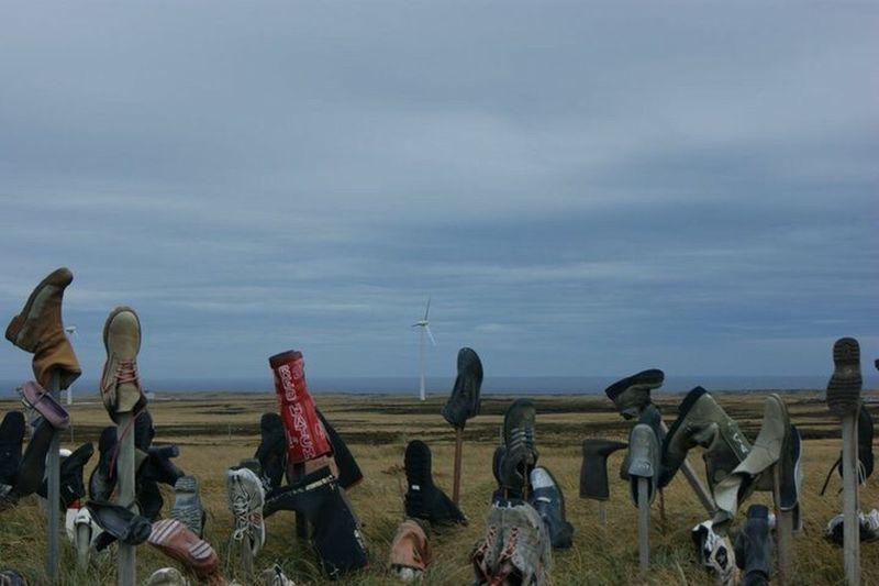 Boot Hill Falkland Islands