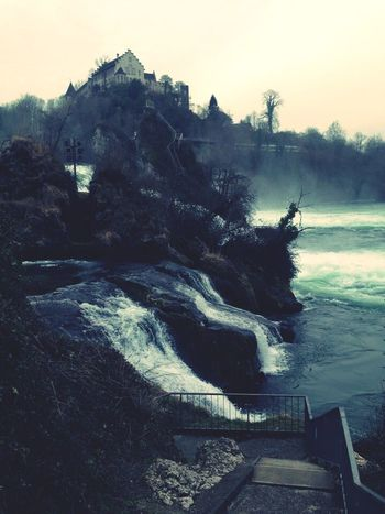 TBT  Rheinfall CataratasdelRin Travel Destinations Nature Beauty In Nature Myterious Landscape Water EyeEmNewHere