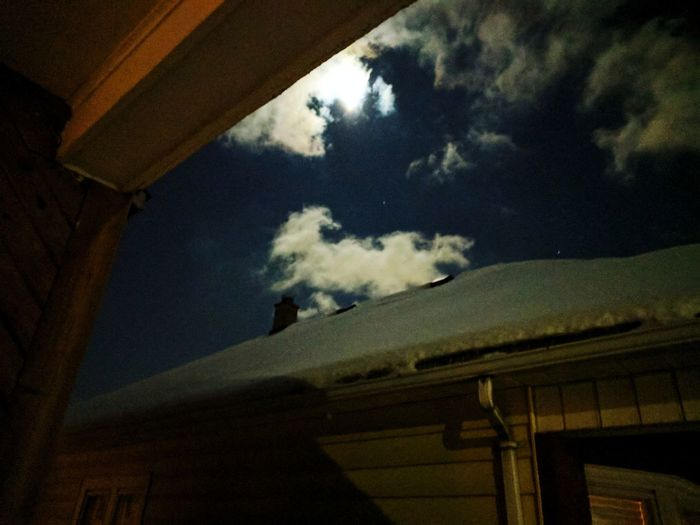 The snow moon.