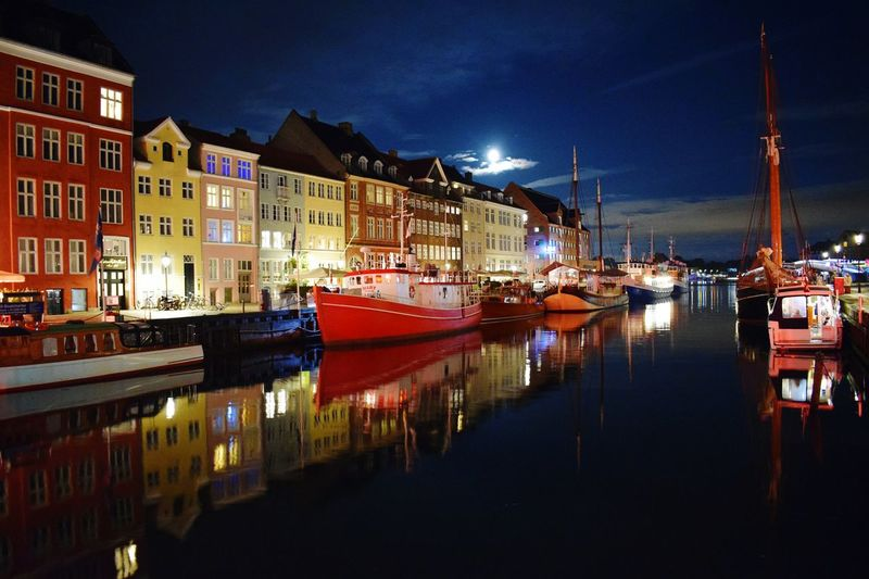 Night Sky City Architecture Travel Destinations Reflection Illuminated Building Exterior No People Water Outdoors Copenhagen, Copenhagen Photo Festival Copenhagenstreetphotography Denmark Denmark Copenhagen Denmark Street Copenhagen Harbour Copenhagen Skyline Nyhavn Nyhavn Copenhagen