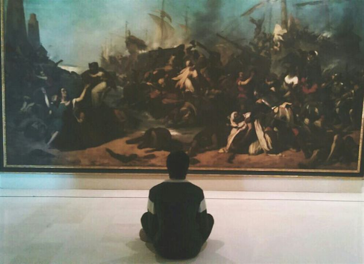 We just have to see life like an art piece. Art Museum