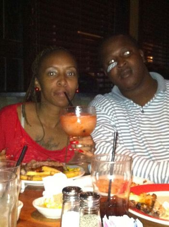 me n my hubby on Valentines day