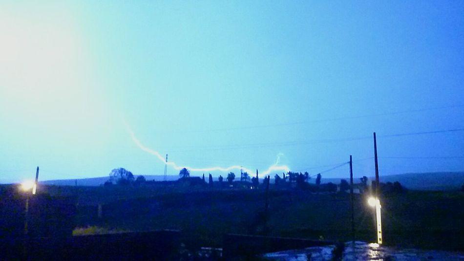Tormenta Eléctrica Clima Noche Belleza Sony Z2 Photography