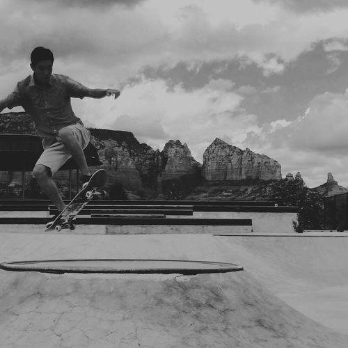 BackWhen Sky Mountain Cliff Skate
