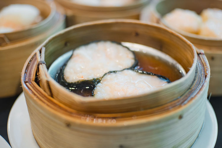 DimSum!!! Appetizer Bowl Chinese Food Close-up Dish Focus On Foreground Food Food And Drink Freshness Indoors  Indulgence Meal No People Plate Ready-to-eat Seafood Selective Focus Serving Size Still Life Temptation