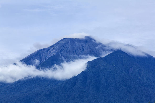 The peak of Mount Kerinci at Sumatera Indonesia with cloud INDONESIA Mount Kerinci Beauty In Nature Cloud - Sky Cold Temperature Day Environment Landscape Majestic Mountain Mountain Peak Mountain Range Nature No People Non-urban Scene Outdoors Power In Nature Scenics - Nature Sky Snowcapped Mountain Sumatera Tranquil Scene Tranquility Volcanic Crater Volcano Winter