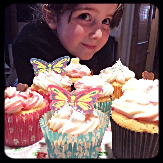 My little cupcake Relaxing