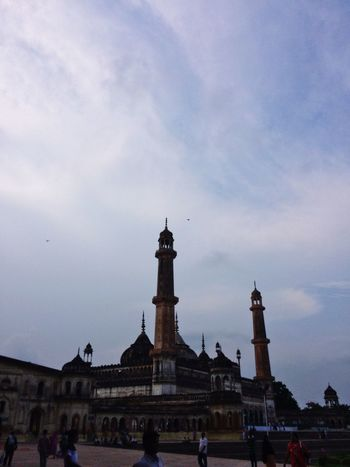 Old mosque in lucknow