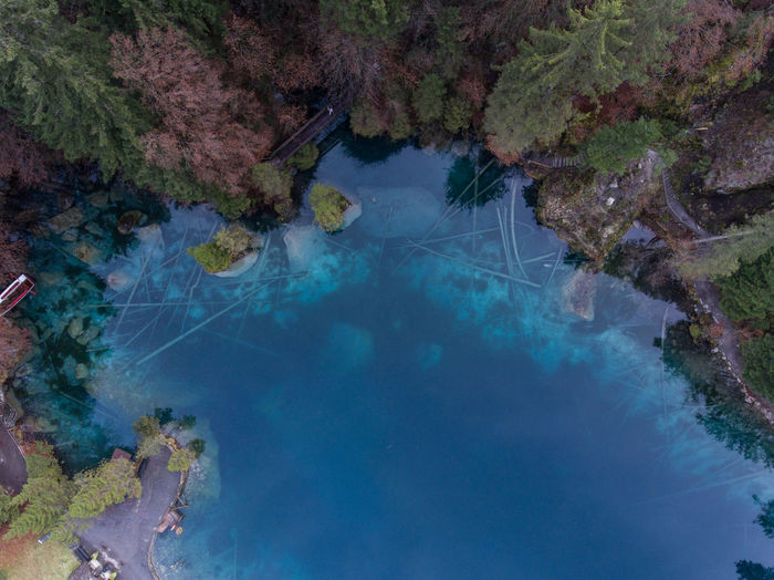 Blue Lake II Aerial Photography Aerial Shot Aerial View Beauty In Nature Dji Drone  Dronephotography High Angle View Nature No People Outdoors Switzerland Tree Water