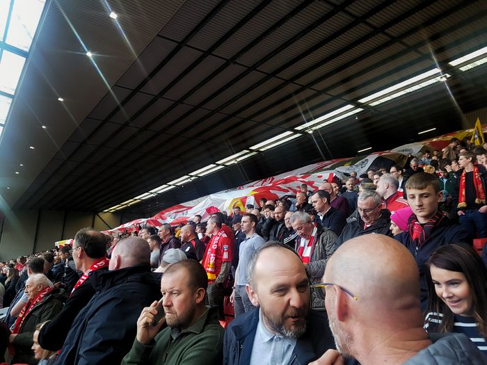 anfield 29 years #96 Kop Justice #96 Football Sports Team Sportsman Audience Match - Sport Sports Event  Sport