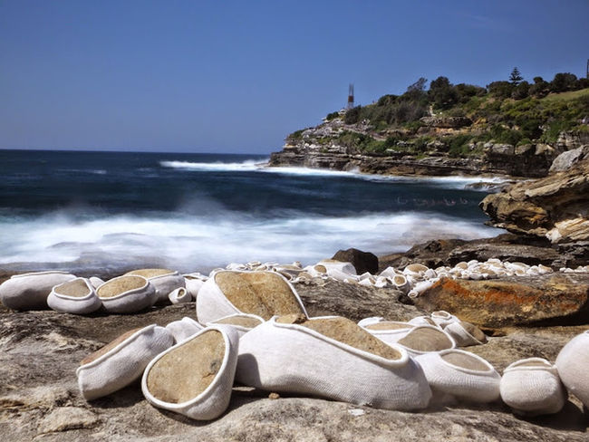 Sculptures by the sea Enjoying The Sights Nature Walking Sydney Photography Nd filter