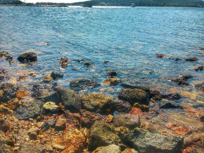 Sea Ayvalik 🐚🐳🐬🏊 Ayvalık Ayvalik Sea And Sky Stone Korfez Beach Seytansofrasi Stones