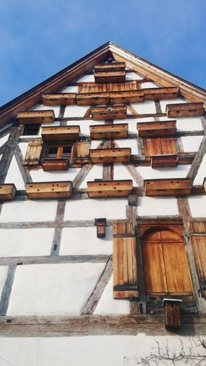 Architecture Bavaria Traditional Windows Low Angle View Frame-house 3XSPUnity