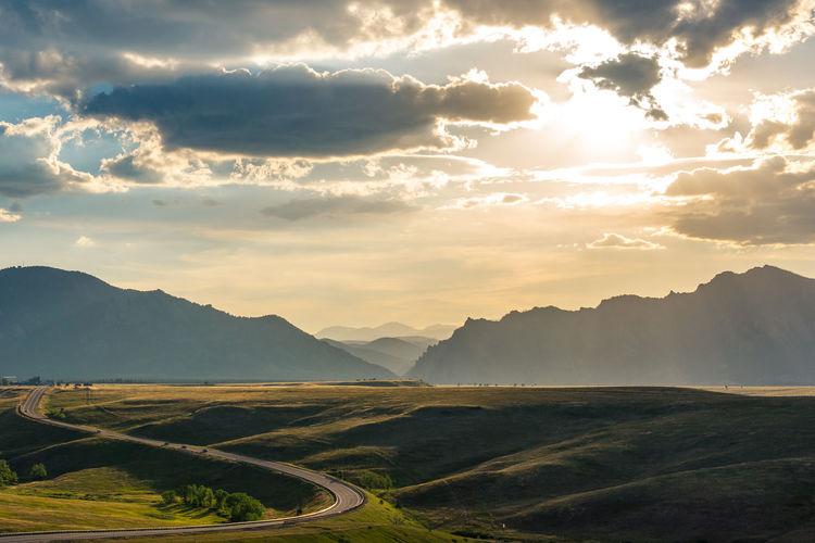 Colorado USA Boulder Rocky Mountains
