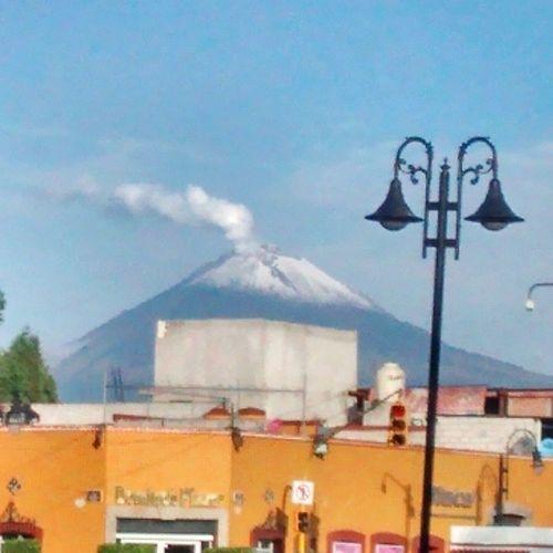 Popocatepetl Cholula Puebla Inaoe VOLCAN nieve