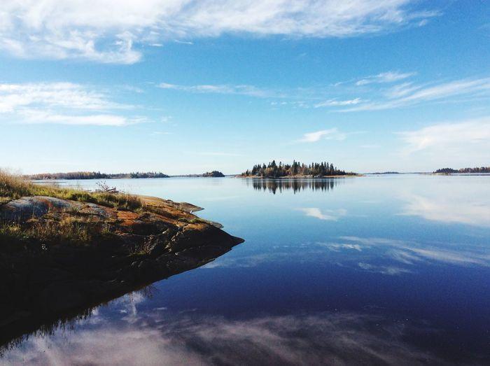 Sunshine Waterreflection Nice😊 First Eyeem Photo