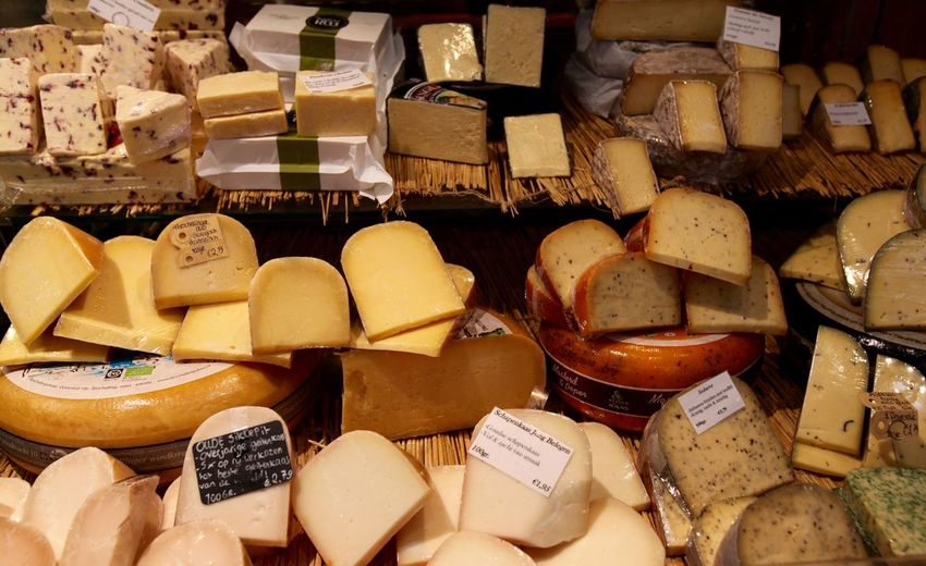 A fine selection. Cheese Retail  For Sale Variation Price Tag Food Market Stall Food And Drink Market Abundance Ready-to-eat Travel Market Close-up Choice