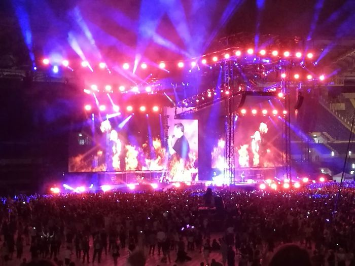 Tiziano Ferro Tour 2017 Stadio Olimpico 30/Giugno/2017 Rome Italy🇮🇹 Color Photography Capture The Moment Arts Culture And Entertainment Performing Arts Event Rock Music The Purist (no Edit, No Filter) Live Event Performance Illuminated Music Crowd Music Audience Popular Music Concert Event Large Group Of People Night Music Festival Enjoyment Stage - Performance Space Fun Nightlife