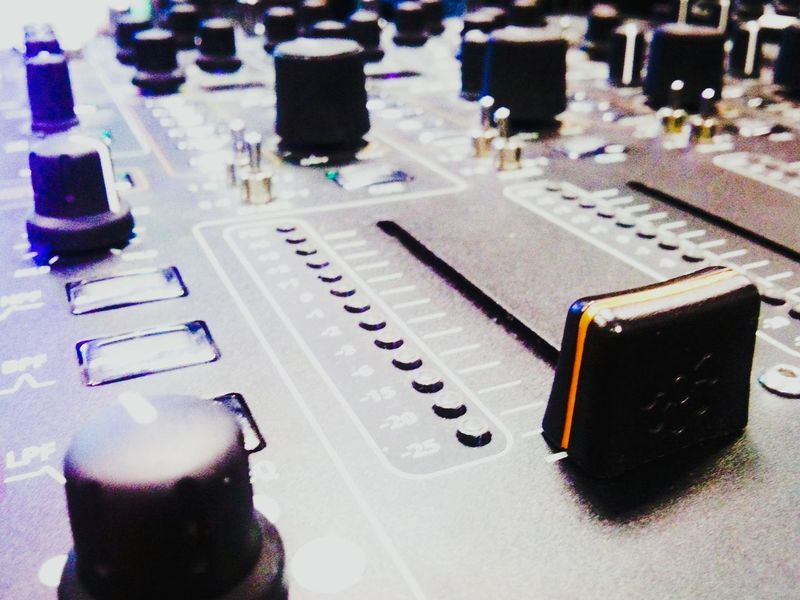 The up fader. Used to bring the music to optimum level. Boom! Dj Mixer Fader Music Dj Equipment Mixing Records Music Equipment Live Sound Audio Gear Manchester