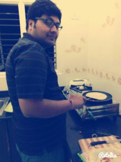 First stint cooking. .. :)