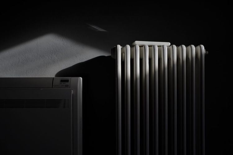 Mundane, Piacenza 2018 My Best Photo Radiator Indoors  No People Nature Close-up Pattern Dark Heat - Temperature Technology Architecture Wall - Building Feature Sky Home Interior Shadow Built Structure Appliance Black Background Light And Shadow