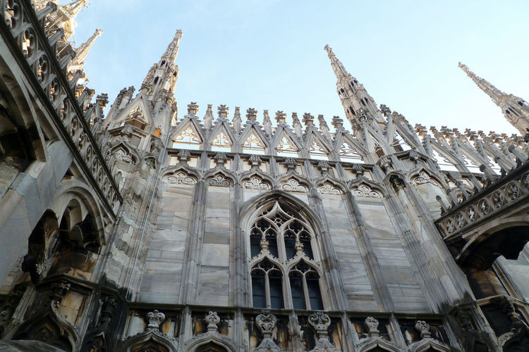 Low Angle View Of A Catholic Cathedral