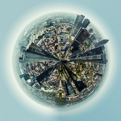 Little planet 360 degree sphere. Panoramic view of Frankfurt am Main city, Germany 3 Dimensional 360 Degree Architecture Circle City Cityscape Earth Frankfurt Am Main Panorama Panoramic Skyline Sphere Tiny Germany Globe Highrise Landscape Miniature Office Building Planet Skyscraper Three Dimensional Three Dimentional Photography World Worldwide