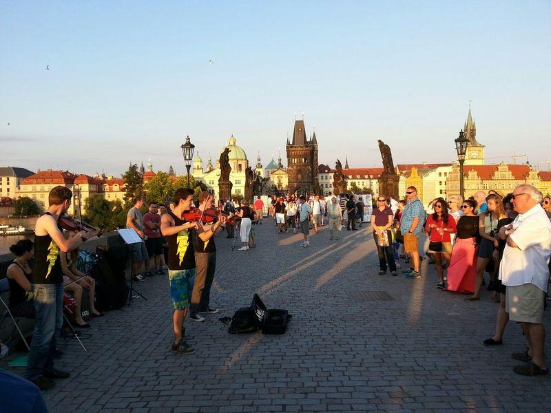 Streetphotography Прага Praha Bridge