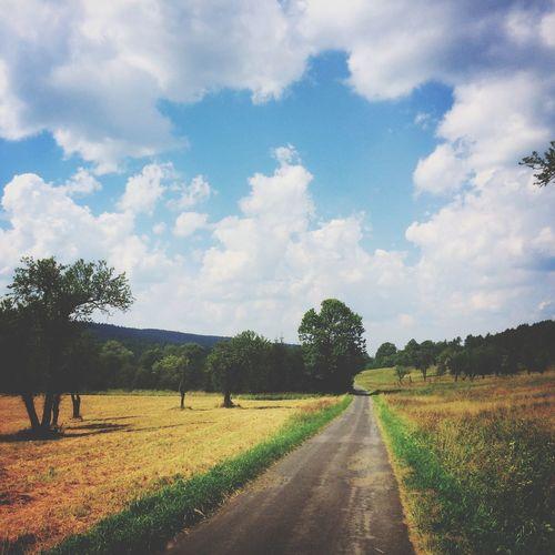 Landscape Cloud - Sky Beauty In Nature Outdoors Bieszczady Landscape_Collection Landscape_photography