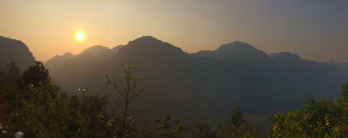 Mountains Landscape_photography Landscape Doi Luang, Chiang Dao Chiang Dao Chiang Mai   Thailand Doi Sunset Mountain