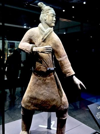 Ancient Art Artifact Burial Casual Clothing Chinese City Life Full Length Funeral History Leisure Activity Lifestyles Night Terra-cotta Warrior